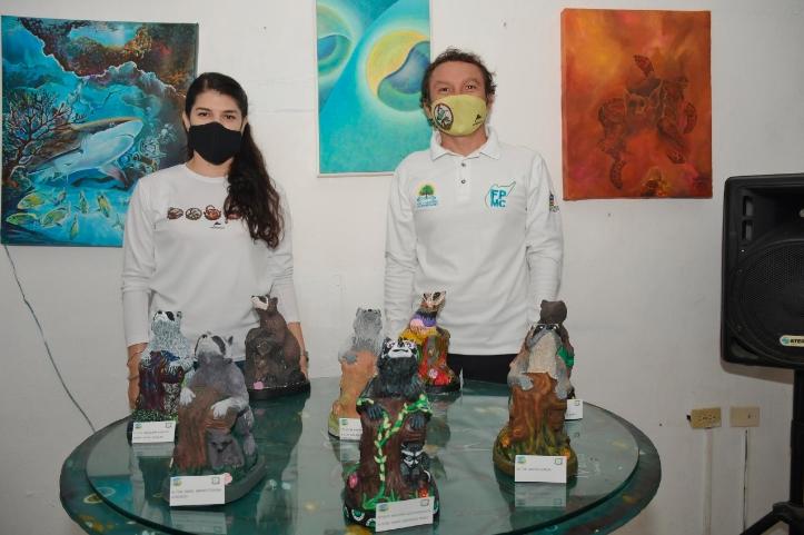 """La FPMC premió a los ganadores del concurso pintura en escultura """"Ponle Color y Vida a tu Fauna"""""""