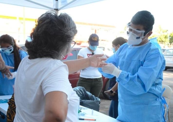 Se logra la meta de aplicación del número de pruebas rápidas de COVID-19 en Othón P. Blanco y Solidaridad