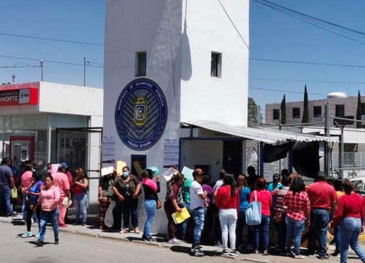 Reos protestan en el penal de San Miguel, en Puebla