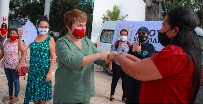 Envió Gobierno de Laura Beristain ayuda humanitaria a damnificados de Tabasco