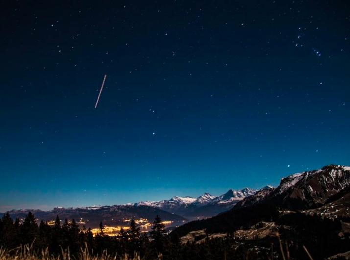 Este enero inicia con lluvia de estrellas