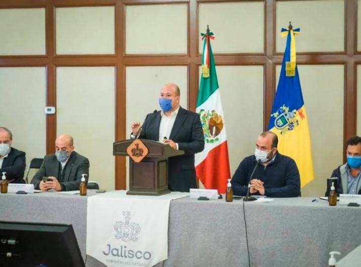 Anuncia Jalisco restricciones adicionales ante la covid-19