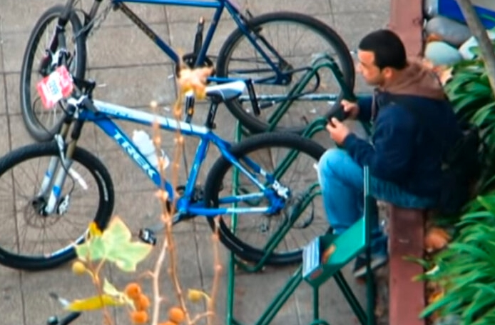 Atrapan a ladrón de bicicletas en Playa del Carmen