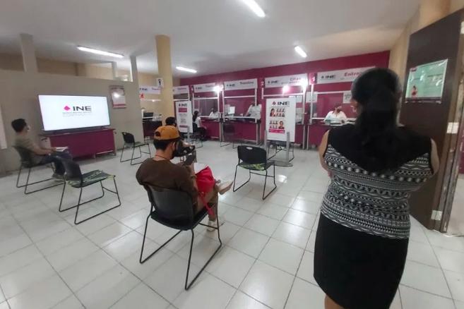 INE playa del Carmen atenderá a ciudadanos sin cita programada de acuerdo a capacidad