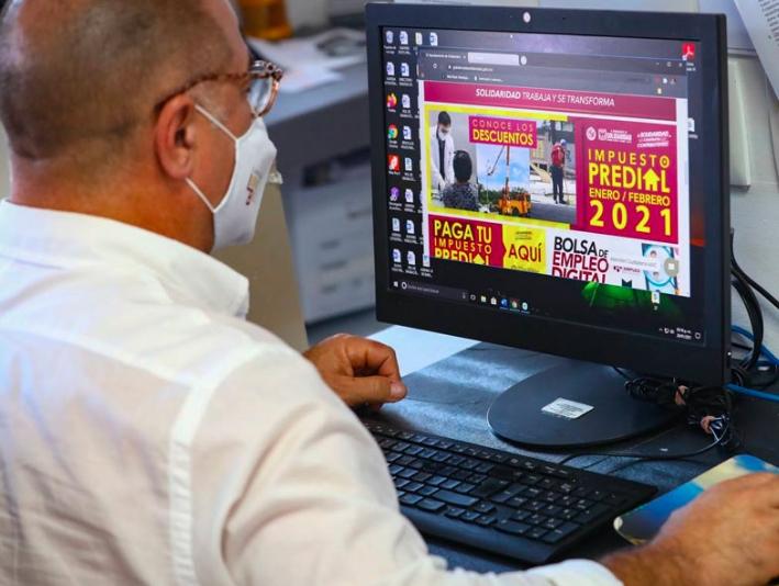 Facilitan pagos en línea del impuesto predial en Solidaridad