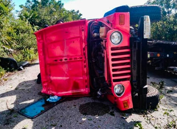 Fallece menor de 7 años tras accidente vehicular en Cozumel