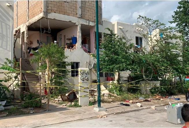 Explosión de gas deja una persona con quemaduras de tercer grado y destrucción en Villas del Sol