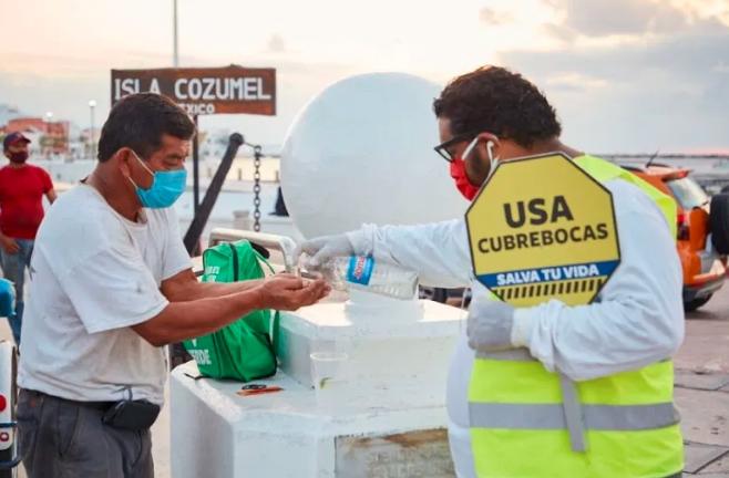 Quintana Roo por encima de los 100 casos de COVID-19 al dia; suman 6 fallecidos más