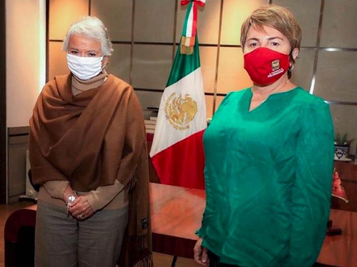 Respalda Olga Sánchez Cordero agenda municipalista de Laura Beristain