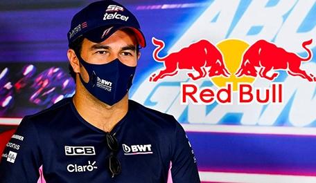"""""""Le dan alas"""" a Checo Pérez, nuevo piloto de Red Bull"""