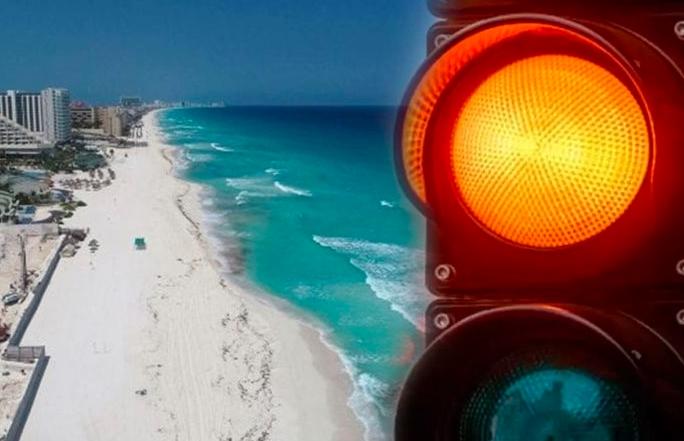 Quintana Roo se mantiene en color naranja del semáforo epidemiológico una semana más