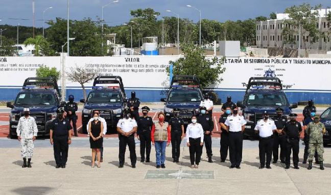 Fortalecen la seguridad en Solidaridad con 26 nuevas patrullas