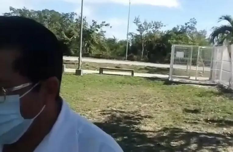 Habilitarán espacio en parque para paradero en Playa Del Carmen