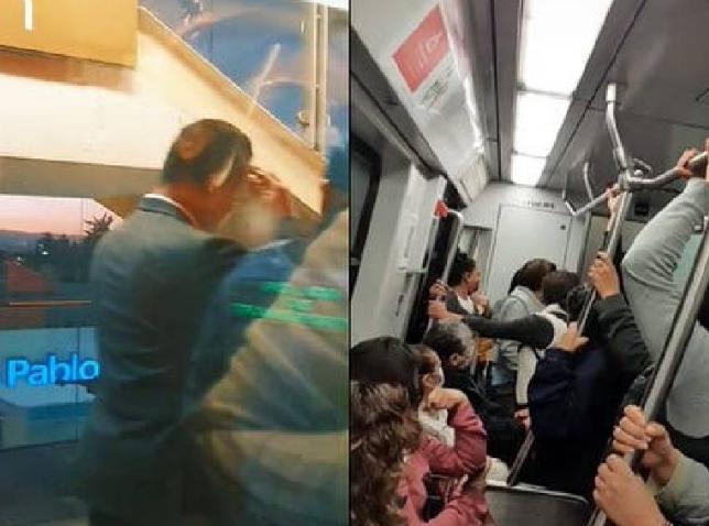 Captan a conductor de Metro teniendo relaciones en cabina