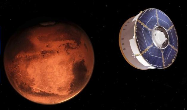 Explorador de la NASA aterrizará esta semana en Marte