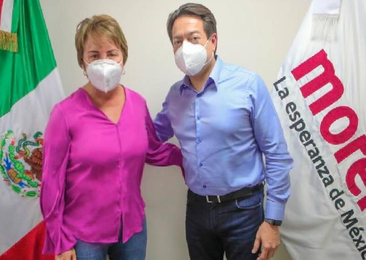 Exitoso encuentro de Laura Beristain y la AALMAC con dirigente nacional de Morena