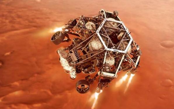 """La sonda Perseverance está """"lista"""" para su peligroso aterrizaje en Marte"""