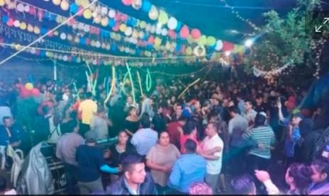 Baile patronal en Oaxaca causa brote de contagios de Covid-19; habría 400 infectados