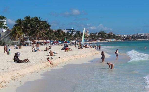 Ocupación hotelera en la Riviera Maya a la baja durante enero