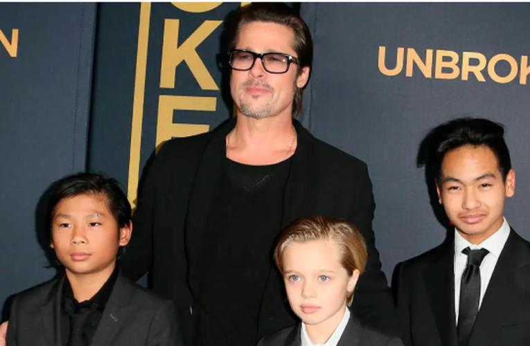 Hijo adoptivo de Brad Pitt desea quitarse el apellido del actor