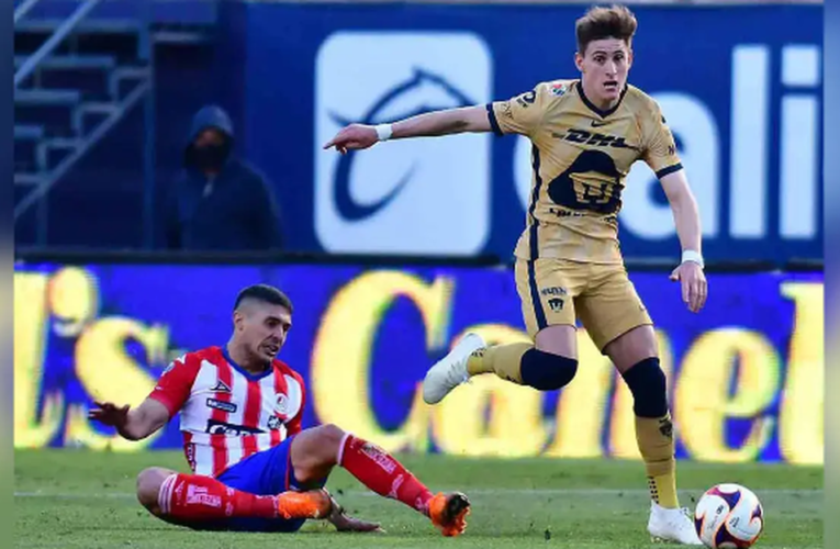 Pumas gana con polémica ante San Luis