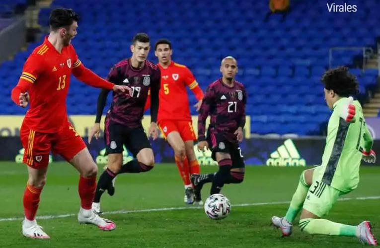México pierde ante Gales por primera vez en la historia