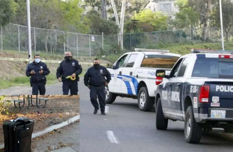 Encuentran cuerpo de menor de edad en una maleta en Tijuana