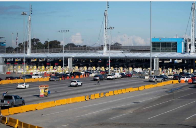 EE.UU. extiende hasta abril cierre de fronteras con México por COVID-19