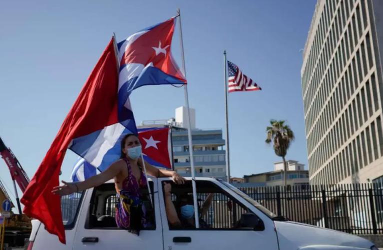 Cubanos exigen el fin del embargo económico de EU
