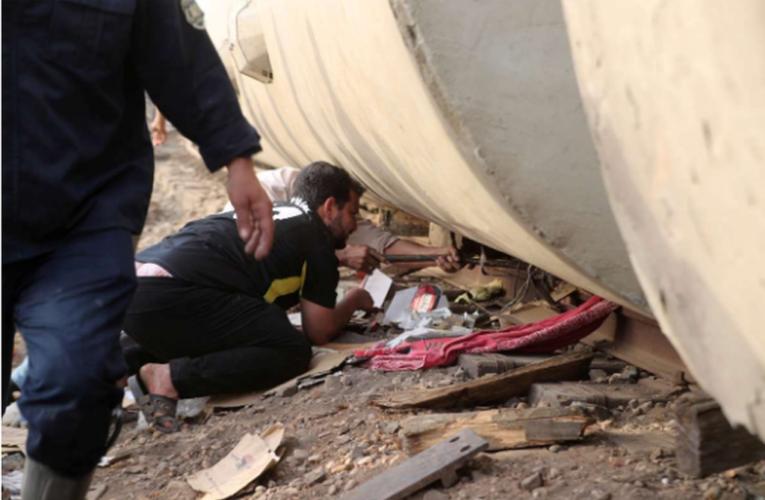 Descarrila tren en Egipto; al menos 11 muertos