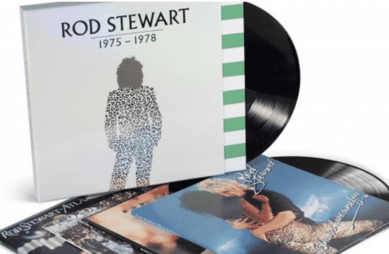 Rod Stewart lanzará un 'box set' de sus álbumes de 1975 a 1978 en formato de vinilo