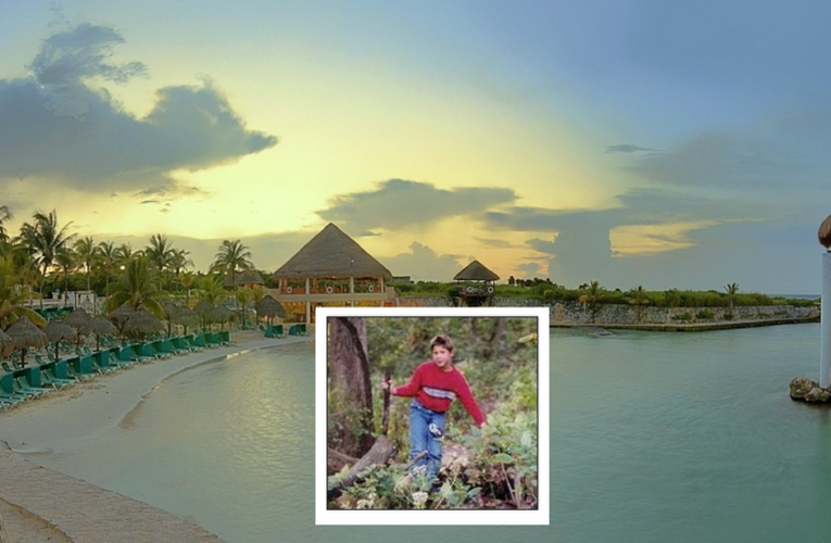 Brent Midlock, de 8 años, murió succionado en la piscina del Occidental Grand Flamenco Xcaret, en 2003