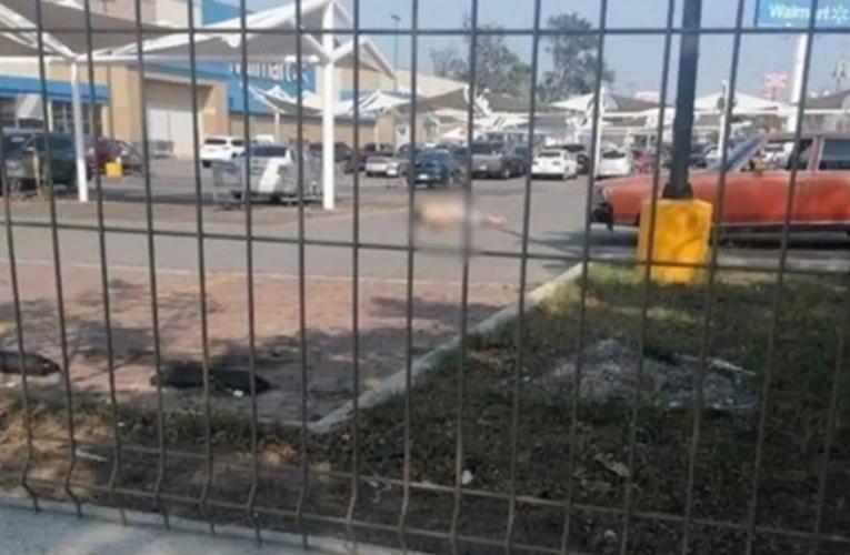 (VIDEO) Asesinan a un sujeto en centro comercial de Tamaulipas