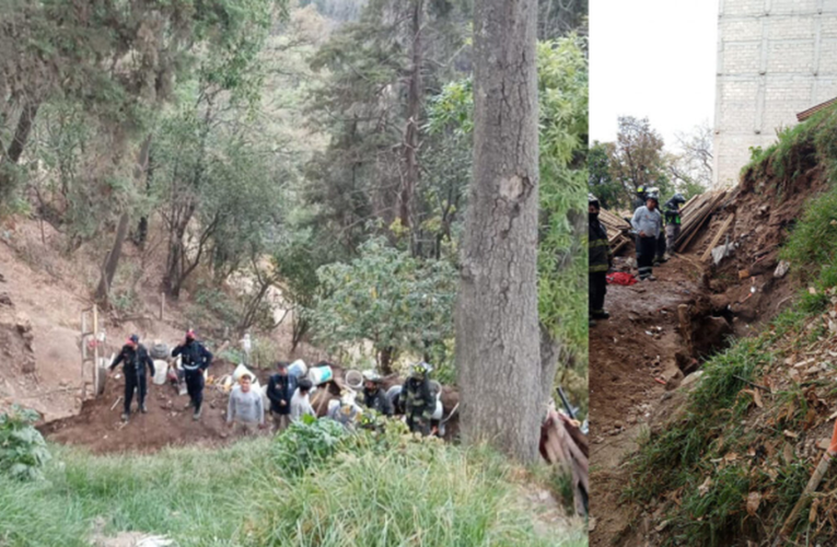 Dos muertos tras derrumbe de obra en la Ciudad de México
