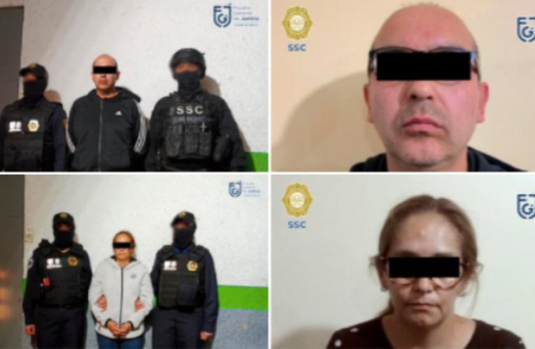 Tras cateo, detienen a pareja relacionada con robos en CDMX, Puebla y Quintana Roo