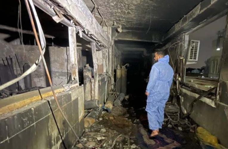 ¡Lamentable! Incendio en hospital de Covid en Irak, deja 83 muertos
