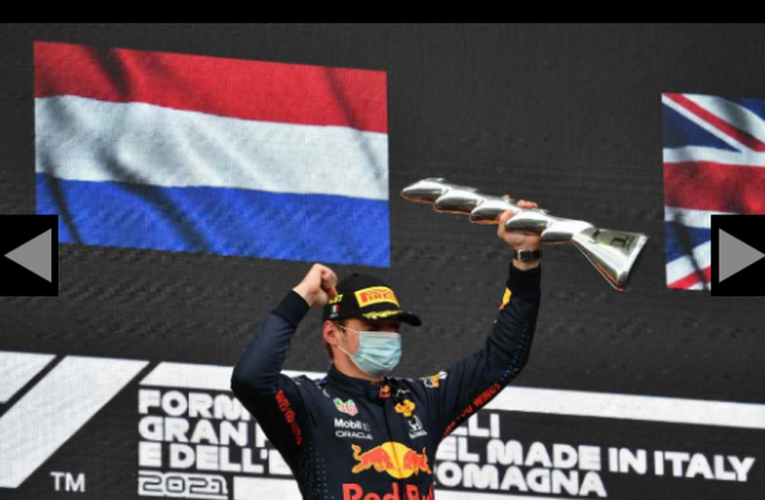 Verstappen gana en Imola y 'Checo' fue víctima de sus errores