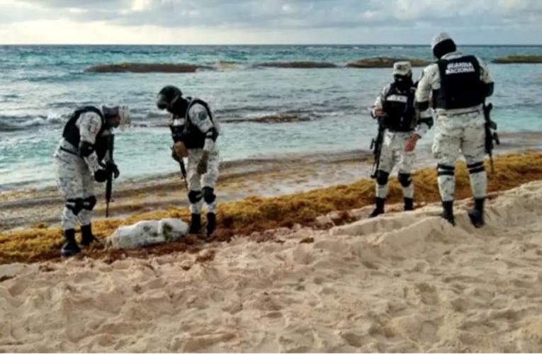 Otro presunto recale de droga en playas de Quintana Roo