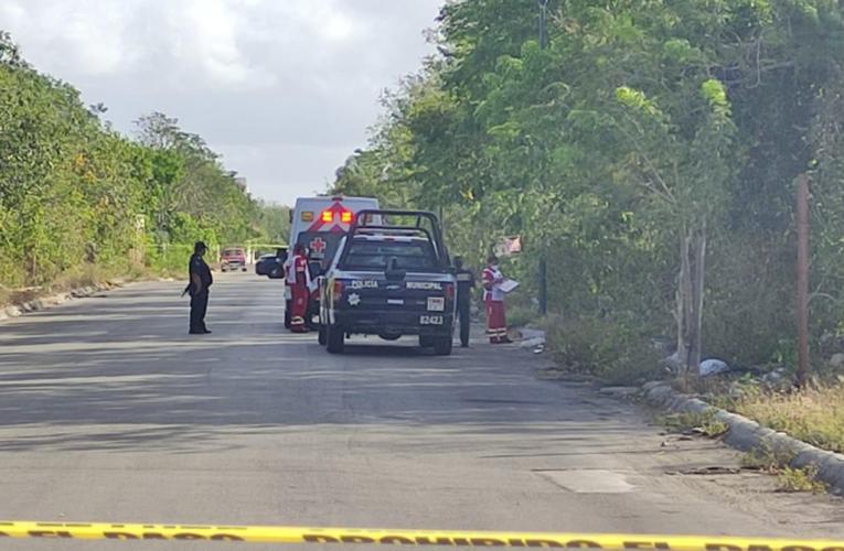 Ejecutan a un hombre a balazos en Playa del Carmen