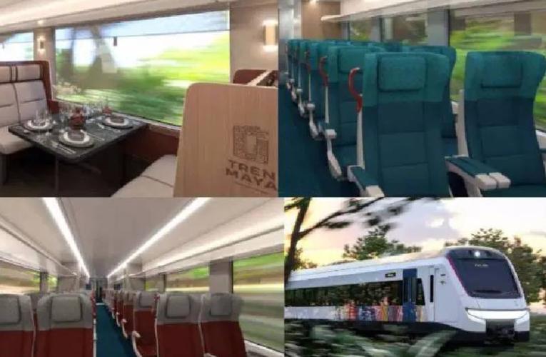 Con dormitorios y restaurante, así serán por dentro los convoyes del Tren Maya