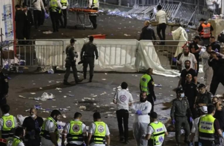 (VIDEO) Estampida deja 38 muertos y más de 100 heridos, en Israel