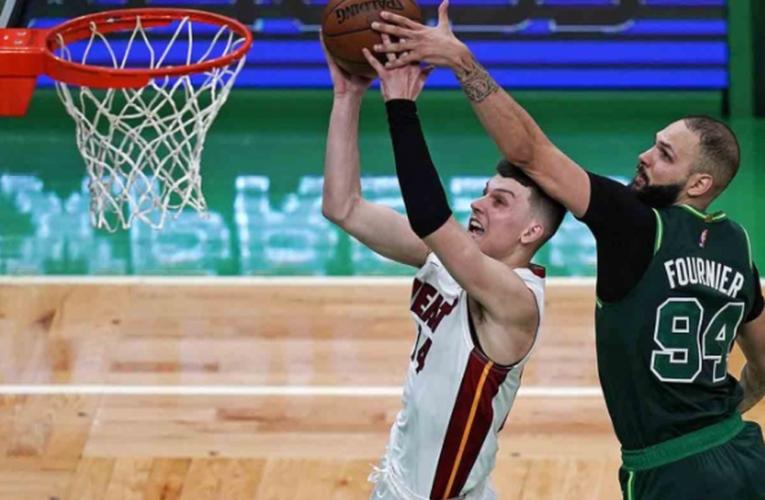Heat asegura los playoffs a costa de Celtics
