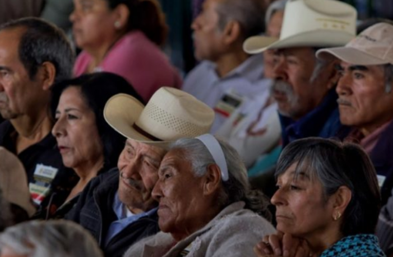 Sube a 3 mil 100 pesos la pensión del Gobierno Federal a los adultos mayores