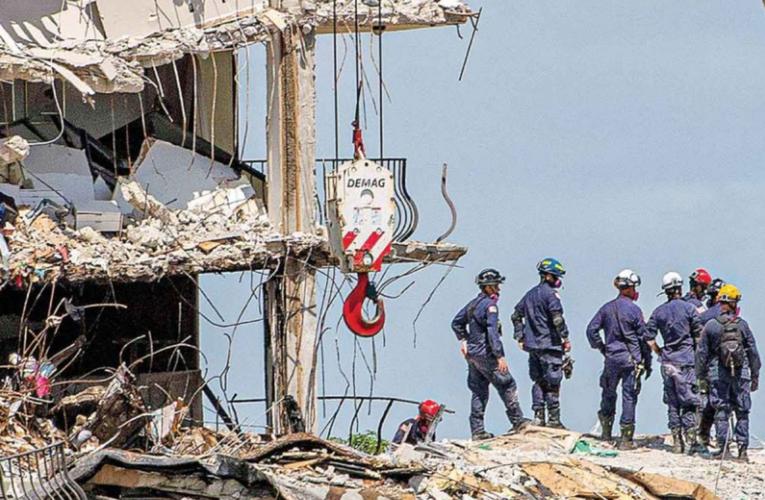 Ocultaron a vecinos fallas en edificio; derrumbe en Miami