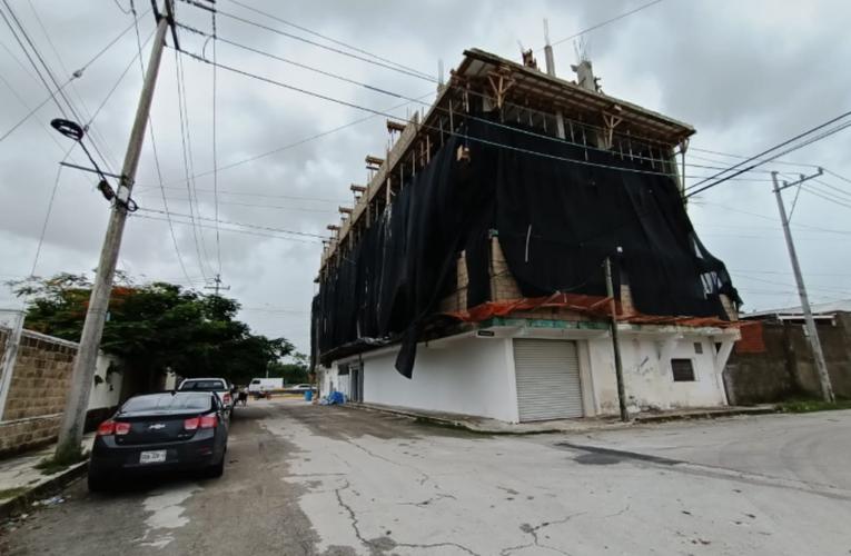 Clausuran crematorio que operaba en edificio en obra negra