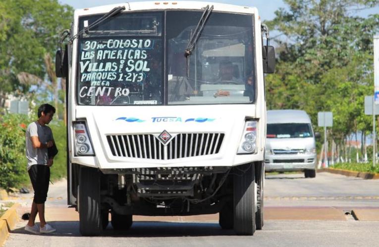 Playa del Carmen: Adquirirán vehículo modelo para posibles concesionarios del transporte público