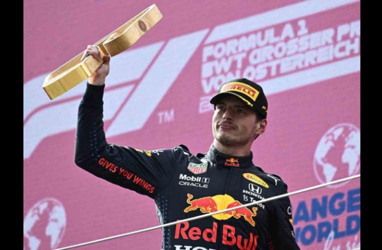 Max Verstappen manda en Austria, 'Checo' cae al sexto lugar
