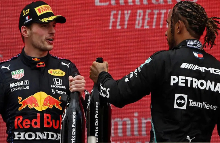 Rivalidad entre Verstappen y Hamilton escala tras accidente