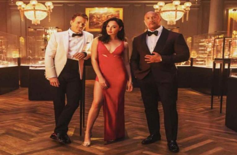 'Alerta Roja' con Dwayne Johnson, Ryan Reynolds y Gal Gadot, ya tiene fecha de estreno