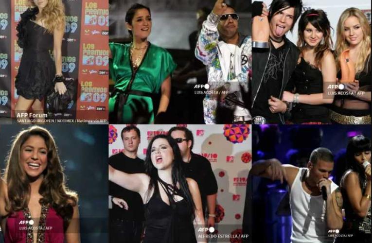 Conoce la historia de los premios MTV Latinoamérica